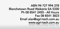 Agri Tech contact details